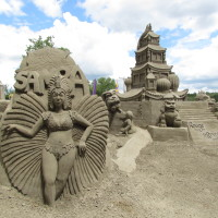 Sand Sculptures and Wonders