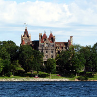 Boldt Castle, Heart Island, NY in the 1000 Islands