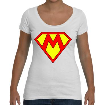 Supermom Ladies Scoop T-Shirt