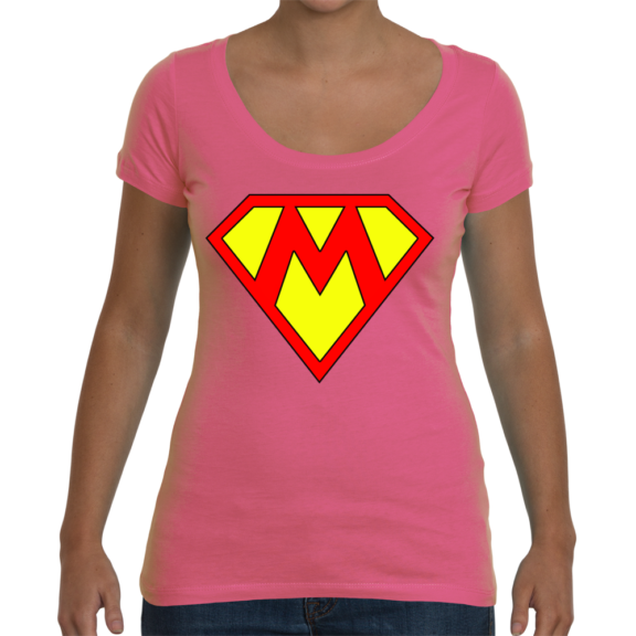 Supermom Ladies Scoop T-Shirt