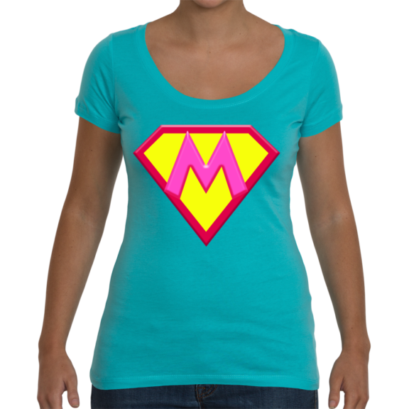 Super M Ladies Scoop T-Shirt