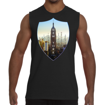 New York Empire Men Sleeveless T-Shirt