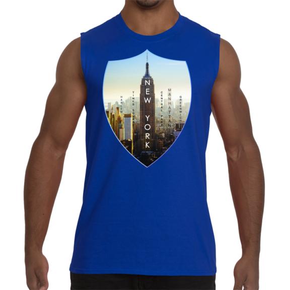 New York Empire Men Sleeveless T-Shirt