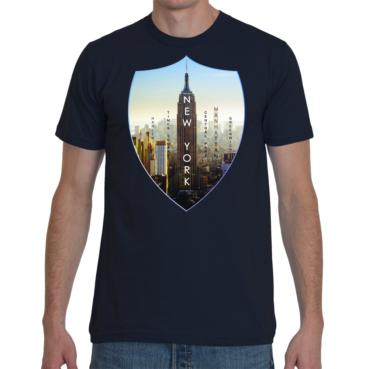 New York Empire American Apparel Men T-Shirt