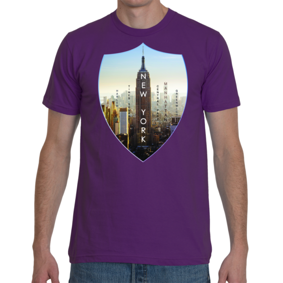 New York Empire American Apparel Men T-Shirt